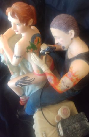Tattoo statue 1 for Sale in Amherst, VA