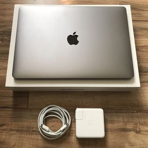 """Feb 2019 15"""" MacBook Pro 6-Core i7 Touch Bar Retina very similar Performance as 2020 16"""" for Sale in Los Angeles, CA"""