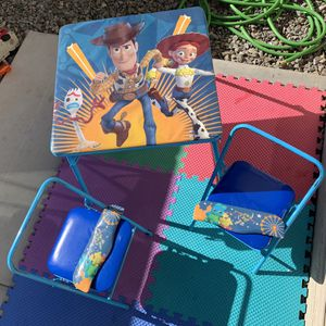 Disney Children's Table Set - Toy Story 4 Edition for Sale in Phoenix, AZ