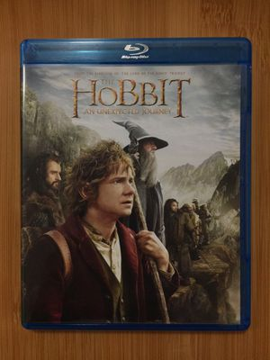 The Hobbit An Unexpected Journey Blu-Ray 3-Disc Set With Ultraviolet for Sale in Renton, WA