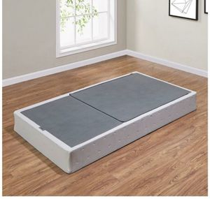 TWIN SIZE ONLY FOLDABLE BOX SPRING HAVE 2 @ 30 EA for Sale in Dallas, TX