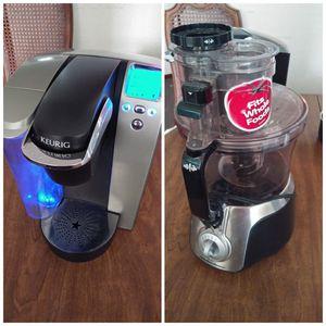 Coffee maker & Food processor for Sale in Dallas, TX