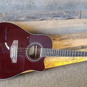 Guitarra Requinto 12 String Acoustic Electric Requinto Guitar Thin Body Combo with Gig Bag & Accessories Guitarra Electrica Acústica for Sale in Avondale, AZ