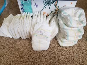 Newborn/sz1 diapers for Sale in Fort Worth, TX