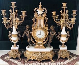 Clock & Candelabra Set for Sale in Irvine, CA