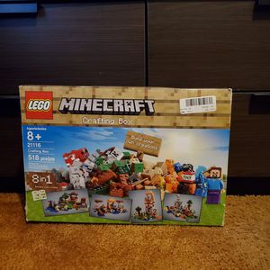 Lego Minecraft Set 21116 Crafting Box for Sale in Los Angeles, CA