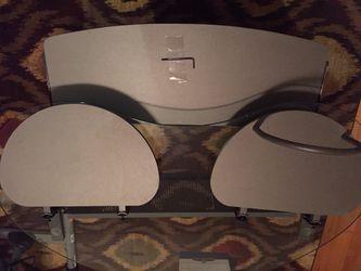 Kidney shaped glass desk for Sale in Kenmore,  WA