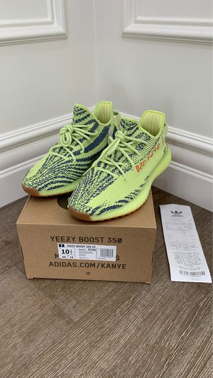 Brand New (Tags Attached) 100% Authentic Adidas Yeezy Boost 350 V2 'Semi Frozen Yellow' – SKU # B37572 - Size: 10.50 US for Sale in Mission Viejo, CA