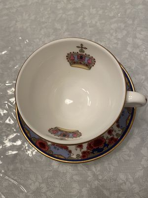 Antique, Royal Doulton cup and saucer, Rare. Made in England for Sale in Jacksonville, FL