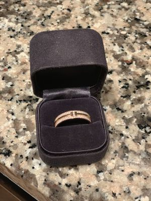 AUTHENTIC UNISEX TIFFANY 2Ring /Size 13! for Sale in Murfreesboro, TN