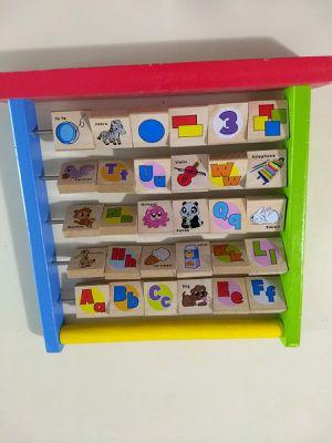 Wooden Alphabet toy toddler kid for Sale in Atlanta, GA