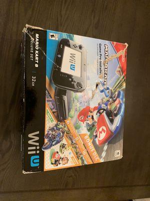 Nintendo Wii U 32GB Mario Kart 8 (Pre-Installed) Deluxe bundle for Sale in Sanger, CA