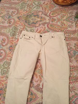 Cream skinny jeans from jcrew for Sale in Nashville, TN