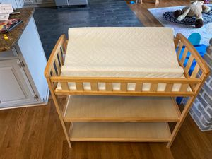 Baby changing table with mattress for Sale in Grasonville, MD