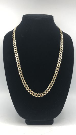 14kt curb link necklace for Sale in Norcross, GA