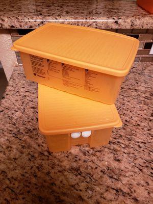 2pc Tupperware Storage Container for Sale in San Antonio, TX