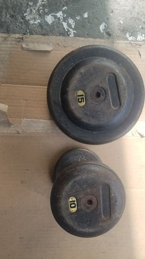 SINGLE DUMBBELLS for Sale in Chicago, IL