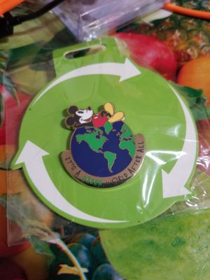 Disney Earth Day pin 2019 It's A Green World After All Mickey Mouse for Sale in Houston, TX