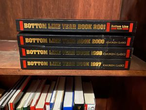 Bottom line year books 1997 98 99 2000 2001 for Sale in Cleveland, TN