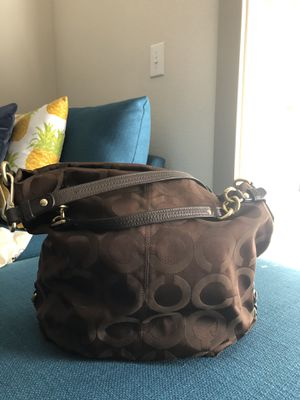 Coach hobo purse (Brown) for Sale in Mansfield, TX