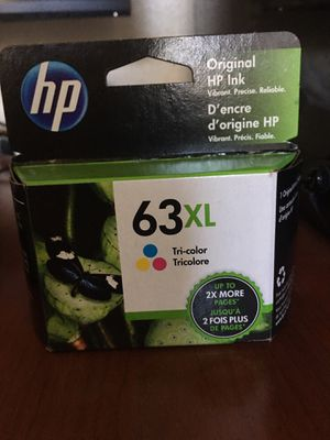 HP 63XL Tri Color Ink for Sale in Roseville, CA