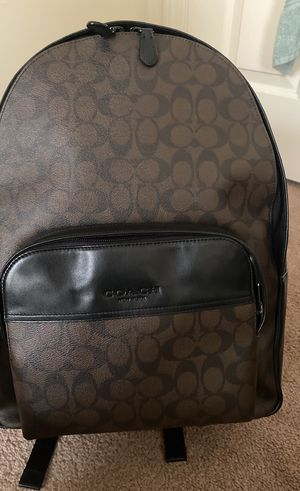 Coach men's Houston backpack basically brand new for Sale in Litchfield, NH
