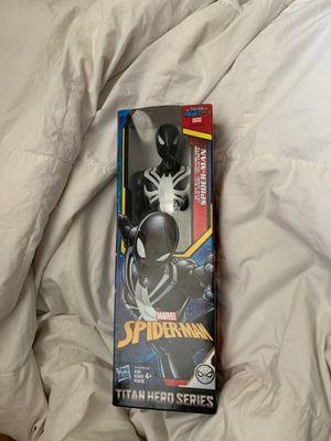 Black suit Spider-Man action figure for Sale in San Jose, CA