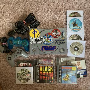 PS1 PlayStation 1 with 11 games for Sale in Santa Cruz, CA