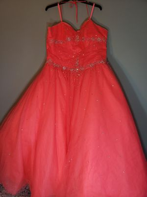 MoriLee by Madeline Gardner watermelon quince dress for Sale in Lakeland, FL