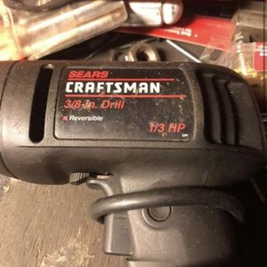 """Craftsman 3/8"""" Corded Drill for Sale in Framingham, MA"""