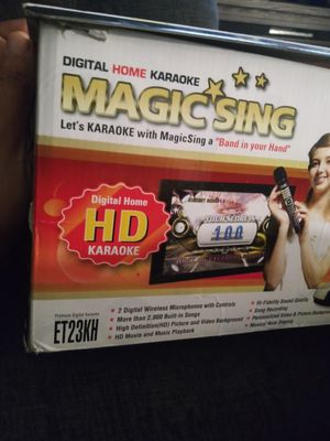 MAGIC SING -KARAOKE ENTERTAINMENT SYSTEM for Sale in Grand Terrace, CA
