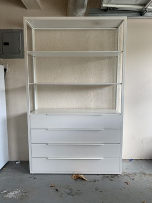 Bookcase with drawers for Sale in Fullerton, CA