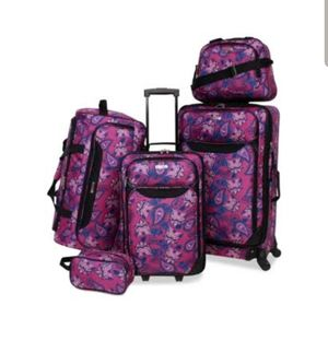 Springfield III Printed 5-Pc. Luggage Set, for Sale in Dacula, GA