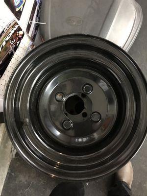 Golf cart wheels. 10 in black new. $10.00 each for Sale in Eustis, FL