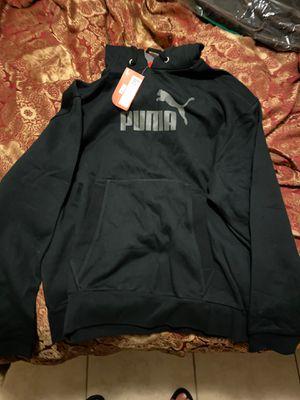 Black puma hoodie new for Sale in El Mirage, AZ