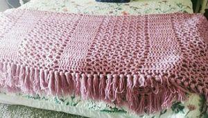 Big purple lavender crochet blanket for Sale in Peoria, AZ