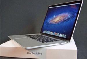Apple MacBook Pro 15inch Retina 2.5GHZ Intel Core i7 500GB Flash Storage Memory 16GB 1600 MHz DDR3 MacOS Sierra 10.12.1 for Sale in Ashburn, VA