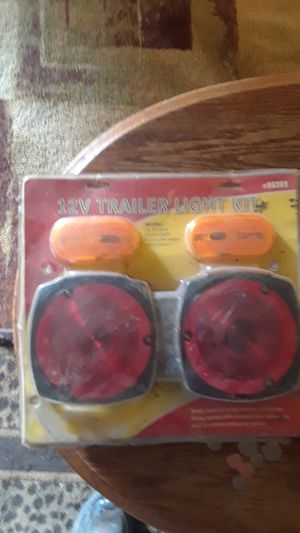 12 volt trailer light kit with wiring harness for Sale in Lakeside, TX