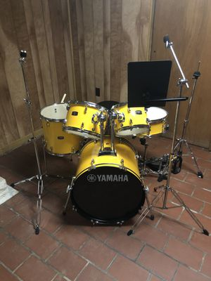 Yellow Yamaha Rydeen Drum Set for Sale in White Hall, WV