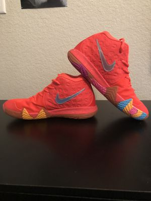 Nike Kyrie Irving 4 lucky charms rare infrared for Sale in Virginia Beach, VA