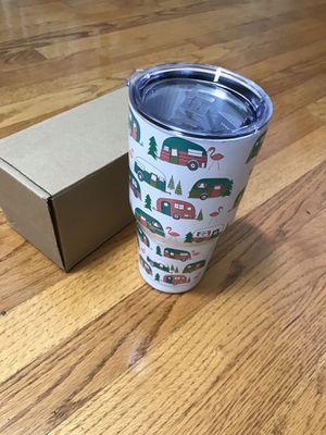 30 oz Camper Yeti mug tumbler coffee cooler for Sale in Matthews, NC