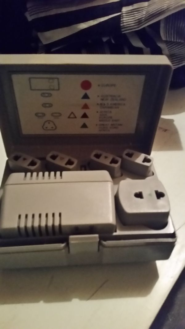 Rca foreign voltage adapters