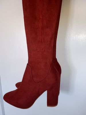 Ultra Red Suede for Sale in Long Beach, NY