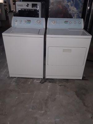 washer and dryer electric whirlpool good condition 90 days warranty labadora y secadora electrica whirlpool buenas condiciones 90 dias de garantia for Sale in San Leandro, CA