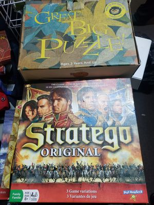 Puzzles and family games complete games used for Sale in Artesia, CA