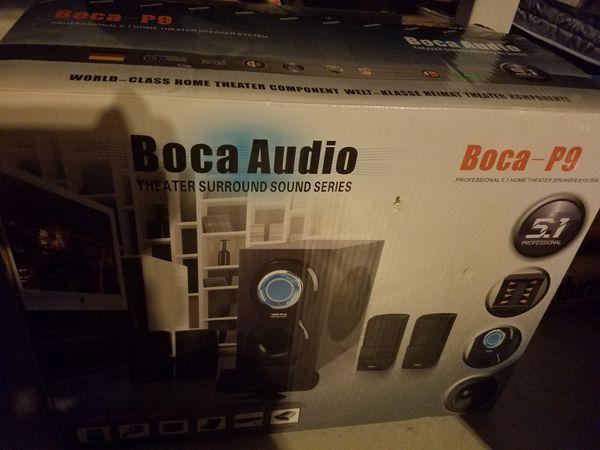 Boca-p9 audio new in box