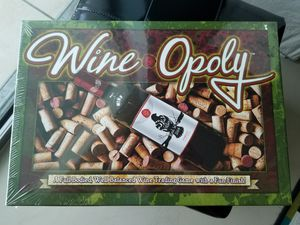 Wine-Opoly board game for Sale in Miami, FL