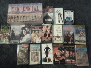 Vhs tapes some never opened for Sale in Montgomery, AL