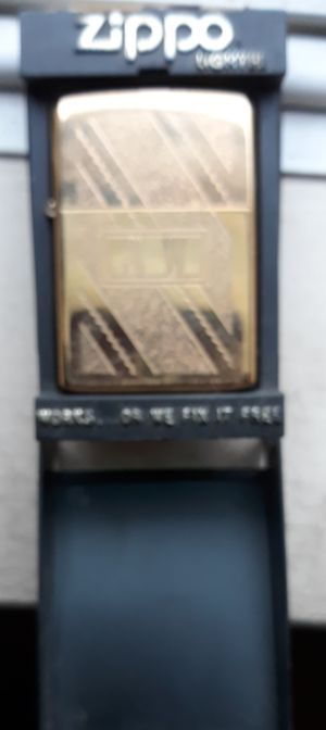Zippo lighter, Has initials TW for Sale in South Attleboro, MA