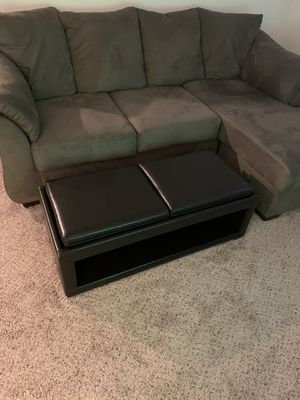 Black Ottoman Coffee Table for Sale in Tampa, FL